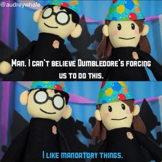 Potter puppet pals - Omg I laughed waay too hard at this. And read it in their voices. Harry Potter Puppets, Potter Puppet Pals, Harry Potter Jokes, Harry Potter Fandom, Yer A Wizard Harry, Harry Potter Universal, Mischief Managed, Ravenclaw, Fantastic Beasts