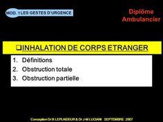 INHALATION DE CORPS ETRANGER> Inhalation, Emergency Medical Technician, Gratitude, Balance Sheet