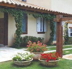 Lawn and Garden Tools Basics Garden Decoration - Nicos Garden Yard Ideas, Terrace Garden, Lawn And Garden, Garden Projects, Garden Art, Pergola, Front Yard Landscaping, Garden Inspiration, Style Inspiration