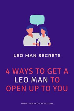 Leo men can be tough nuts to crack emotionally. If you're dating a new Leo man and scratching your head over how to grow closer to him — without scaring him off — take a look at these four tips I've come up with in my years as a relationship astrologer working with women just like you! Leo Man In Love, Sensitive Men, Types Of Boyfriends, Love Astrology, Play Hard To Get, Leo Men, Waiting For Him, Serious Relationship, Positive Words