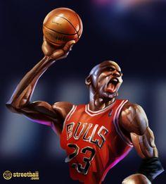 Best Michael Jordan Painting