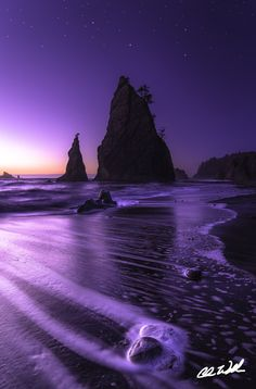 Rialto Beach, La Push, Washington State - Pinnacles by Chris Williams Exploration Photography on 500px