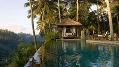 Now that is a view, and a pool.... Bali!