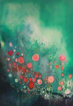 Saatchi Online Artist: Georgina Vinsun; Mixed Media, 2012, Painting Evelyn