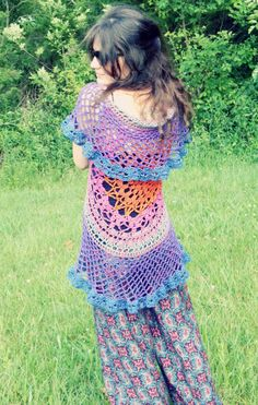 After seeing some great circular vests and talking about them with a fellow crocheter last festival, I came home inspired to do something I've had in my notebook for a while – rework my…