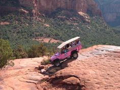 Sedona Pink Jeep Tour Arizona yes this was amazing and scary