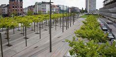 Tuinontwerp openbare ruimte Justitiepaleis Antwerpen   Wirtz Landschapsarchitecten