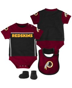 7a4b05646 Outerstuff Babies  Washington Redskins Jersey Bodysuit