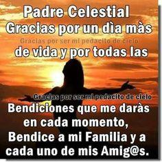 Gracias Padre Celestial