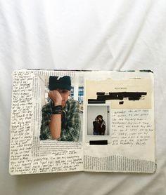 unwriteyou: i made an art journal about my... - Journal Inspiration