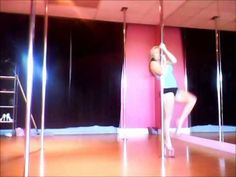 Helicopter Spin Tutorial Pole Dancing - YouTube