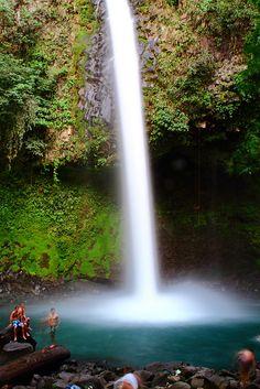waterfall, La Fortuna, Costa Rica
