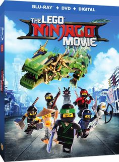 #GIVEAWAY! #Win a copy of the #LEGONinjagoMovie available on Blu-ray/DVD starting December 19