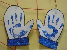 rukavice - otisk dlaní