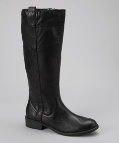 Take a look at this White Mountain Black Law Boot by White Mountain & Cliff by White Mountain on #zulily today!