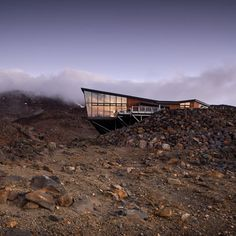 Knoll Ridge Cafe by<br /> Harris Butt Architecture