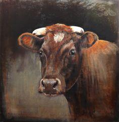 Brandrode cow- Nanouk Weijnen