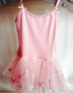 You're little dancer will look adorable in any of our leotards! Get this one for $32.00