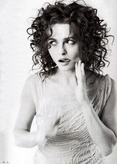 Helena Bonham Carter- She is one of my favorite actresses and probably one of the best actresses in the world.  She is very daring and witty in her roles and a true shape shifter. She is a true actress.