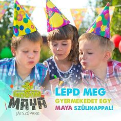 Közeleg a gyerkőcök szülinapja? Ne törd tovább a fejed a meglepetésen! Lepd meg őket egy feledhetetlen szülinapi partyval a gyerekek paradicsomában a Maya Játszóparkban! #maya #playground #avalonpark #miskolctapolca #birthdayparty #hbd #funforkids #dailygram