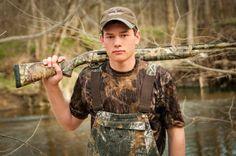 senior portrait with hunting gun - Google Search