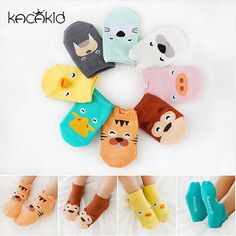 Cute Cartoon designed baby socks for newborns make for a wonderful gift. Age: 0-4 Years    Size           Suggest age       Foot  Length      …