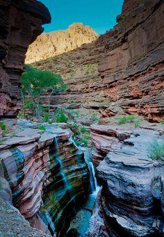 Deer Creek Canyon in Grand Canyon National Park, Arizona.