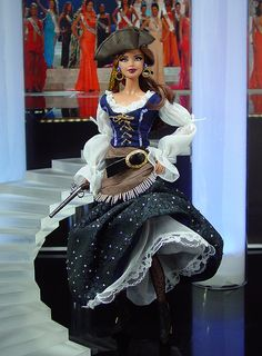 ๑ Jean LaFitte Lady 2013' Perfect for Damriscotta Pirate Day!