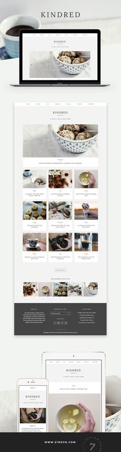 Kindred Theme - Station Seven WordPress Themes