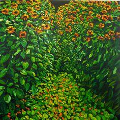 Karl Maughan — Old Karori Road Nz Art, Kiwi, Planting Flowers, Contemporary Art, Art Gallery, Around The Worlds, Artists, House Styles, Artwork