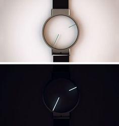 Roderick/Tokyoflash - Minimal Analog Watch Design