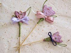 Purple crocus made of plantable handmade paper by Boby Dimitrov, via Flickr