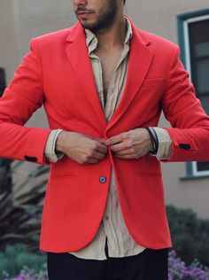 Red Blazer by ZARA  http://reyalfashion.com/post/49365581164