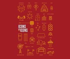 Australian icons of icons