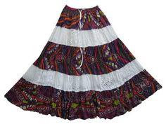 Hippie Skirt - Women Boho Gypsy Cotton Skirts Purple White Eyelet Lace Peasant Skirt Mogul Interior,http://www.amazon.com/dp/B00BLIKW4Y/ref=cm_sw_r_pi_dp_cUulrb1AVRZYYYDQ