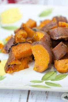 Easy and healthy, Grilled Sweet Potatoes with Garlic Butter will complete your backyard BBQ. Chop up some sweet potatoes top with garlic butter.