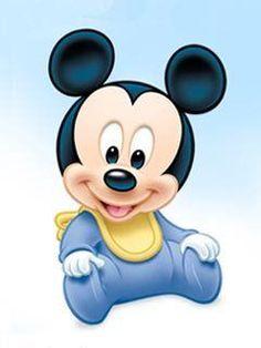 Imagenes y elementos Minnie Baby & Mickey Baby Baby Mickey Mouse, Festa Mickey Baby, Mikey Mouse, Mickey Party, Mickey Mouse Birthday, Disney Mickey, Walt Disney, Mickey Mouse Imagenes, Baby Disney Characters
