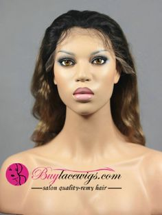 18Inch #1b/144 Body Wave Human Hair Twotone Lace Front Wigs Brazilian Lace Front Wigs, Body Wave, Virgin Hair, Waves, Ocean Waves, Natural Hair, Natural Hair Care, Wave, Beach Waves