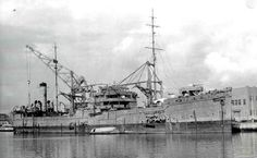 «Notoro» Japanese Auxiliary Seaplane Tenders in 1943. «Notoro» Japanese Auxiliary Seaplane Tenders, rebuilt from the shuttle tanker, which were built according to plan 8×8. In 1944, was badly damaged in an air raid in Singapore, was not restored, was used as a landing stage. After the war, was sunk in the sea, and is excluded from the lists of the fleet only in 1947. Time taken: 1943