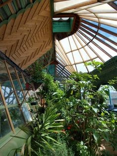 would like this as a glasshouse attached to my new home
