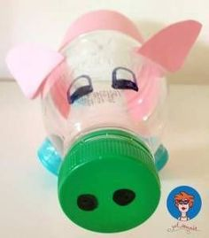 Spaarpot-maken-van-een-plastic-fles-5