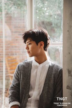 """park bogum for tngt ✧ 2016 s/s visual campaign (behind the scenes)""1200 x 1800""…"