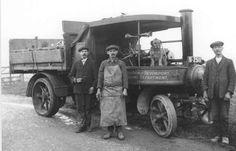 It's a Steam Lorry