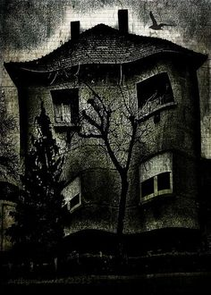 'A Twisted House' by mimulux on artflakes.com as poster or art print $17.33