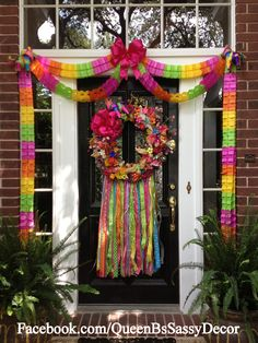 What's Fiesta without a wreath?