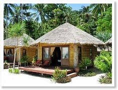 Tropical Beach Huts | bamboo hut massage hut beach picture silver sands beach tao
