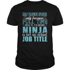 (New Tshirt Produce) SCALP-TREATMENT OPERATOR Ninja T-shirt [Tshirt Best Selling] Hoodies Tee Shirts