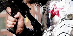 The winter soldier with what looks like his M4A1 with M203 grenade launcher attachment!!