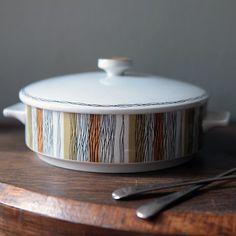 Vintage midwinter ceramic tureen / casserole dish - got the matching bowl!