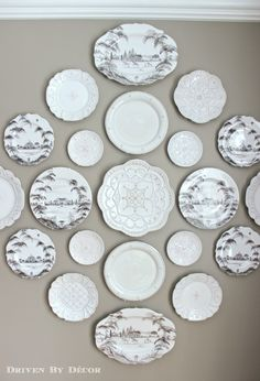How To Hang Plates on the Wall (The Best Hangers u0026 More  sc 1 st  Pinterest & How To Hang Plates on the Wall (The Best Hangers u0026 More   Pinterest ...